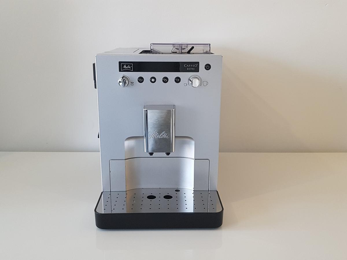 Melitta Caffeo Bistro zilver